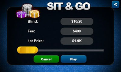 Texas Hold'em Poker screenshot 1