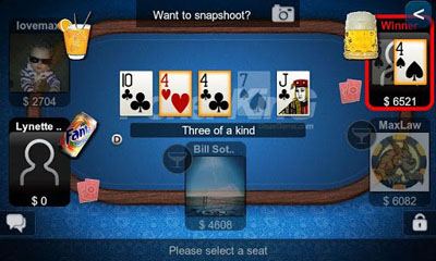 Texas Hold'em Poker screenshot 4