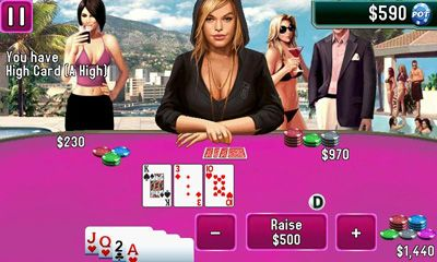Screenshots von Texas Hold'em Poker 2 für Android-Tablet, Smartphone.