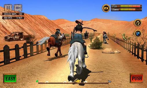 Texas: Wild horse race 3D screenshot 1