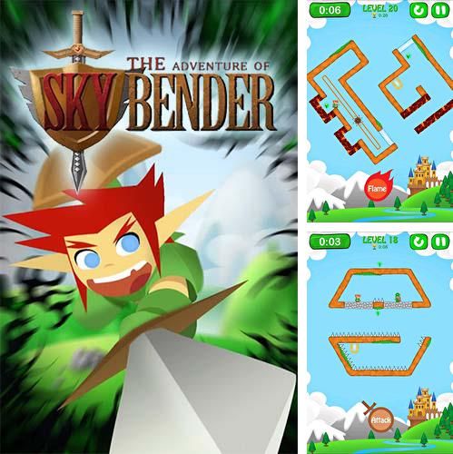 In addition to the game The Stone Stacker for Android phones and tablets, you can also download The adventure of Skybender for free.