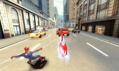 Screenshots von The Amazing Spider-Man für Android-Tablet, Smartphone.