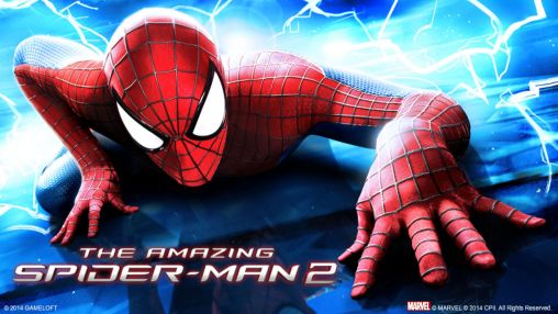 The amazing Spider-man 2 обложка