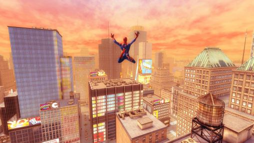 Screenshots von The amazing Spider-man 2 für Android-Tablet, Smartphone.