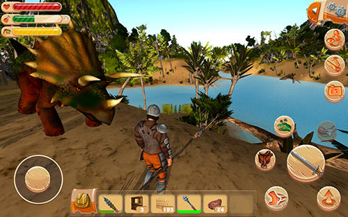Гра The ark of craft: Dinosaurs на Android - повна версія.