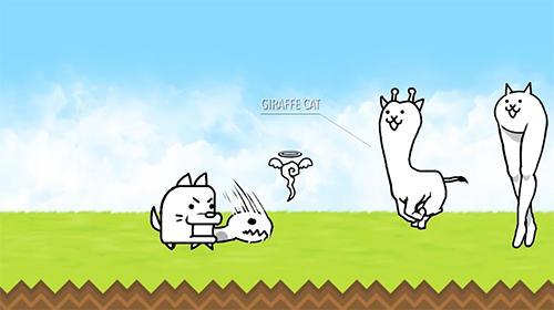 the battle cats pour android t l charger gratuitement jeu les chats de bataille sous android. Black Bedroom Furniture Sets. Home Design Ideas