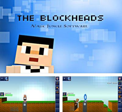In addition to the game The Sandbox for Android phones and tablets, you can also download The Blockheads for free.