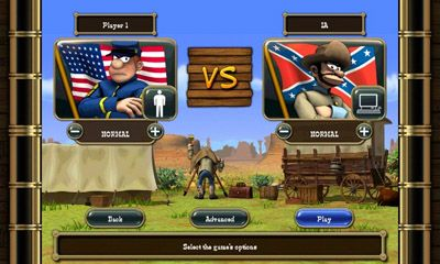 Juega a The Bluecoats - North vs South para Android. Descarga gratuita del juego Soldados: Norte contra Sur .