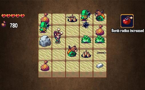 Screenshots von The boy with bombs für Android-Tablet, Smartphone.