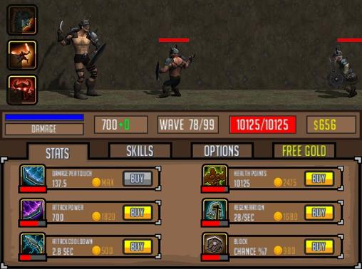 Screenshots von The conqueror für Android-Tablet, Smartphone.