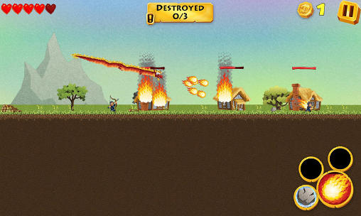 The dragon revenge screenshot 2
