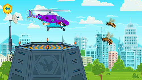 The fixies: The fixies helicopter masters. Fiksiki: Building games fix it free games for kids für Android spielen. Spiel Die Fiexies: Meister des Helikopters. Spiele für Kinder! kostenloser Download.