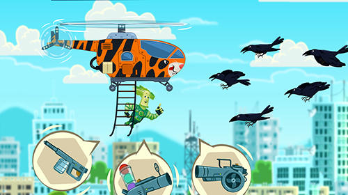 Screenshots von The fixies: The fixies helicopter masters. Fiksiki: Building games fix it free games for kids für Android-Tablet, Smartphone.