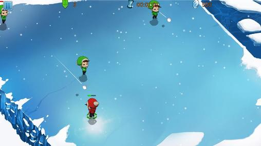 Screenshots von The frozen: Super snow battle für Android-Tablet, Smartphone.