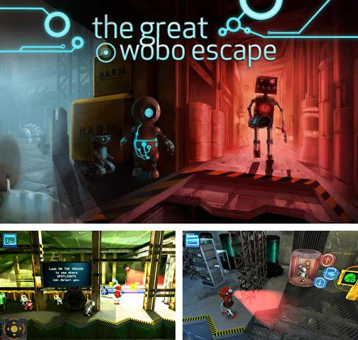 En plus du jeu Pavillon pour téléphones et tablettes Android, vous pouvez aussi télécharger gratuitement Grande évasion de Wobo; Episode 1, The great Wobo escape: Episode 1.