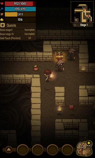 The greedy cave screenshot 2