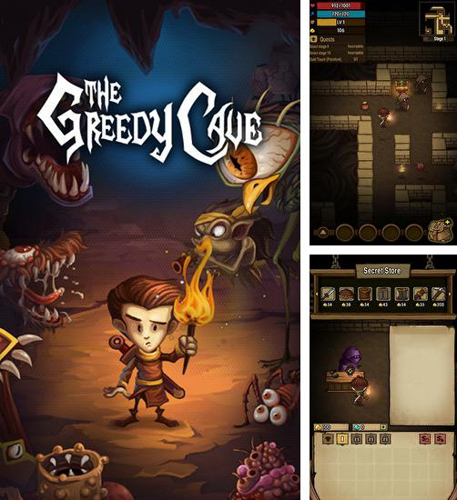 In addition to the game Robotek for Android phones and tablets, you can also download The greedy cave for free.