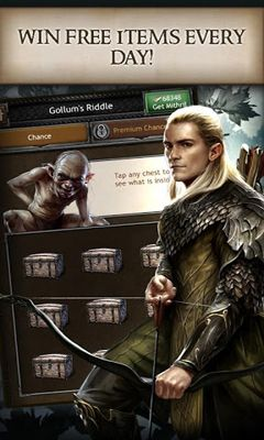 Kostenloses Android-Game Der Hobbit: Königreiche von Mittelerde. Vollversion der Android-apk-App Hirschjäger: Die The Hobbit Kingdoms of Middle-Earth für Tablets und Telefone.