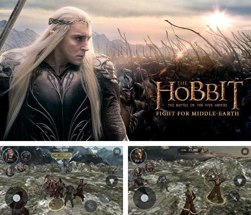 En plus du jeu Les Hobbits: Les Royaumes de la Méditerranée pour téléphones et tablettes Android, vous pouvez aussi télécharger gratuitement Le Hobbit: Le combat de cinq armées. Combat pour la Méditerranée, The hobbit: The battle of the five armies. Fight for Middle-earth.