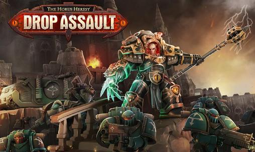 The Horus heresy: Drop assault poster