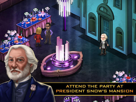 Screenshots von The hunger games: Adventures für Android-Tablet, Smartphone.