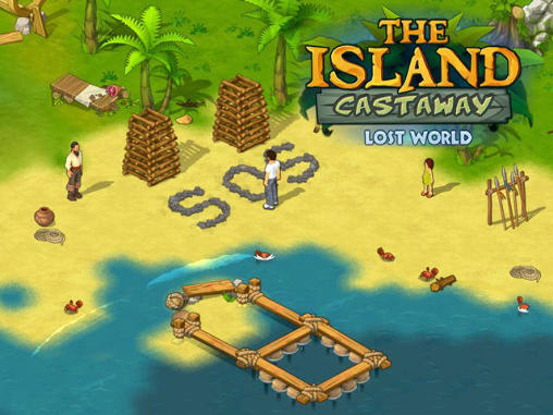 The island castaway: Lost world poster