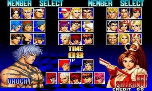 Screenshots von The king of fighters 97 für Android-Tablet, Smartphone.