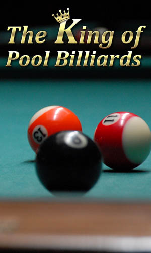 The king of pool billiards poster