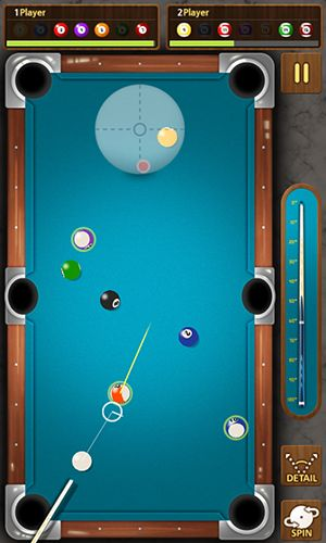 Геймплей The king of pool billiards для Android телефону.