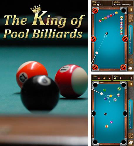In addition to the game Cue box: The real 3D pool for Android phones and tablets, you can also download The king of pool billiards for free.