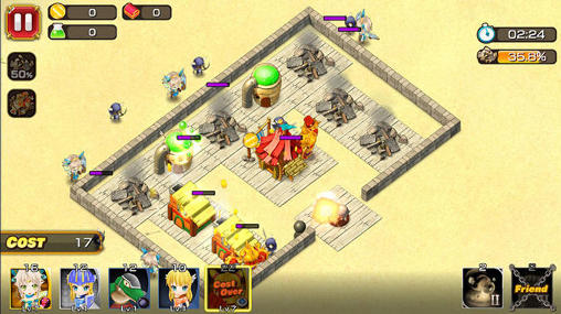 Screenshots von The knights of Mira Molla für Android-Tablet, Smartphone.