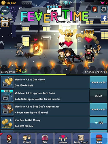The little match girl: Happy clicker screenshot 3
