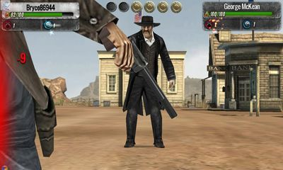 Screenshots of the The Lone Ranger for Android tablet, phone.
