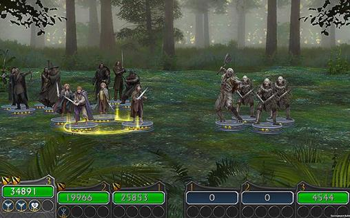 Screenshots von The Lord of the rings: Legends of Middle-earth für Android-Tablet, Smartphone.