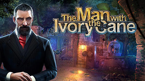 The Man with the ivory cane poster