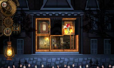Écrans de The Mansion A Puzzle of Rooms pour tablette et téléphone Android.