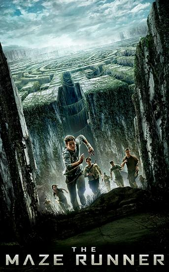 The maze runner обложка