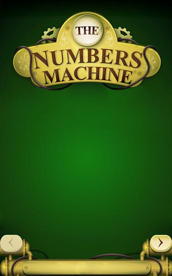The numbers machine обложка