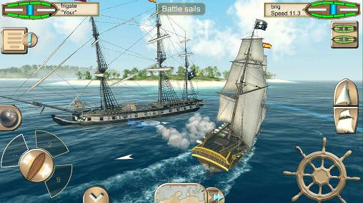 Screenshots von The pirate: Caribbean hunt für Android-Tablet, Smartphone.
