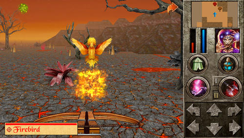 Screenshots von The quest: Islands of ice and fire für Android-Tablet, Smartphone.