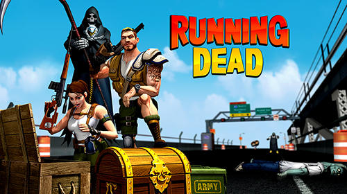 The running dead: Zombie shooting running FPS game обложка