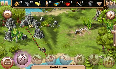 Screenshots do The Settlers HD - Perigoso para tablet e celular Android.