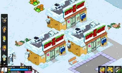 Screenshots von The Simpsons Tapped Out für Android-Tablet, Smartphone.