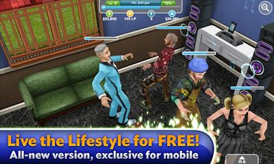 Screenshots von The Sims: FreePlay für Android-Tablet, Smartphone.