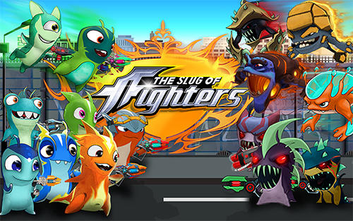 The slug of fighters. Slugs jetpack fight world