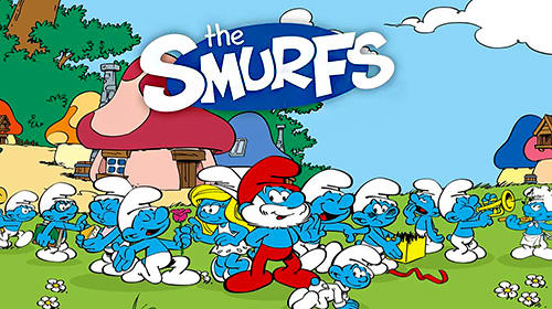 The Smurfs and the four seasons poster