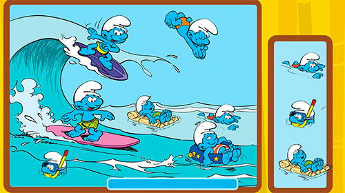 The Smurfs and the four seasons screenshot 3