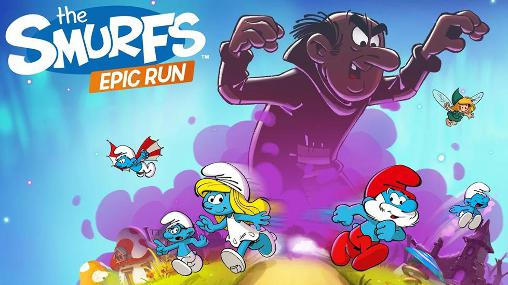 The smurfs: Epic run poster