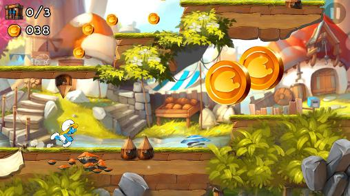 The smurfs: Epic run screenshot 1