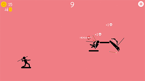 Stickman baseball screenshot 1